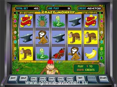 автоматы обезьяна игровые без регистрации играть