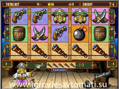 Игровой Автомат Капитан Пират И Влаги